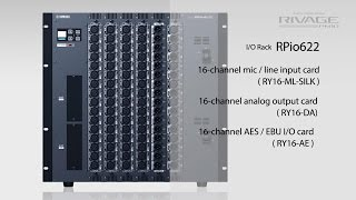 Yamaha RIVAGE PM10: System Overview