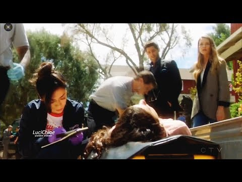 Lucifer 3x04 Crime Scene with Chloe Luci & Ella- People Don't Change Season 3 Episode 4 S03E04