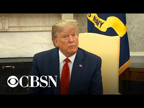 Trump stops short of blaming Iran for Saudi oil attacks