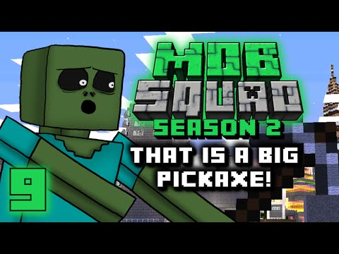 Mob Squad - That Is A Big Pickaxe! - Season 2 Ep. 9