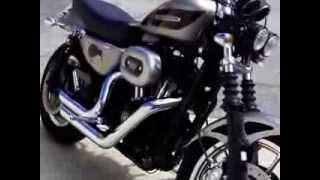 9. 2007 Harley-Davidson Sportster XL 1200R Roadster, customized