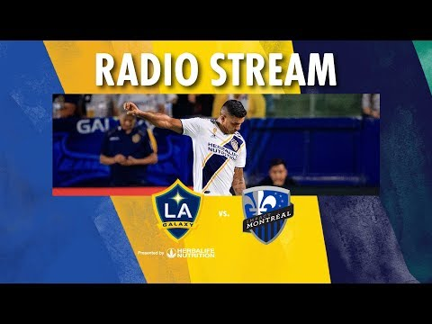 Video: LA Galaxy vs Montreal Impact | Radio Live Stream