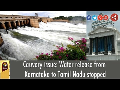 Cauvery-issue-Water-release-from-Karnataka-to-Tamil-Nadu-stopped