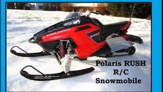 6. Polaris Rush R/C Snowmobile Review
