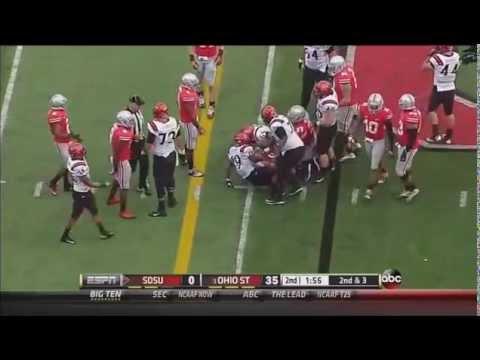 Joshua Perry – Ohio State Football – OLB – 2013 San Diego State Game