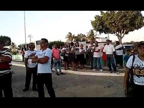Banda Simplicidade na Marcha Pra Jesus em Macururé Bahia
