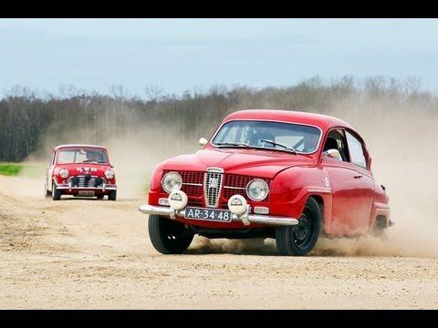 Saab 96 Morris Cooper S vs. Saab 96 V4 Rally