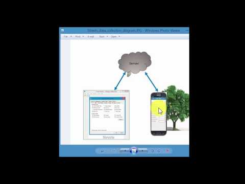 i-Tree Streets Part5 - Mobile data collection system introduction