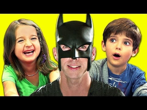 KIDS REACT TO BatDad!