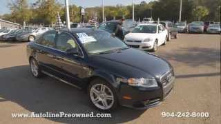Autoline's 2008 Audi A4 2.0T Special Edition Walk Around Review Test Drive