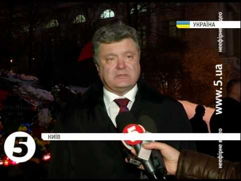 """Порошенко заявил, что есть план остановки """"войск Р"""