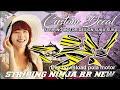 Striping NINJA RR NEW + Free Download Pola Striping Motor - Super Yellow Concept