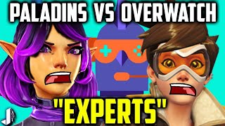 Paladins VS Overwatch is a click bait holy grail & ironically I am using it to call out another YouTuber - The Leaderboard who used my gameplay footage of a mode that takes 5-10 mins without any acknowledgement to me and made a analysis of Paladins when they played around 4 bot matches. Judge for yourself: https://www.youtube.com/watch?v=5alLqZUfXLE Another step in the ridiculousness of these Paladins vs Overwatch derpathons.Follow me - https://twitter.com/JoshinoYTSupport Me - https://www.patreon.com/JoshinoCome chat - https://discordapp.com/invite/joshino
