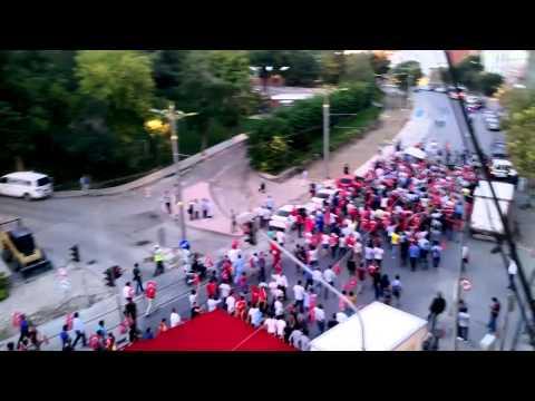Konya'da Şehide Saygı Teröre Lanet YürüyüşÜ