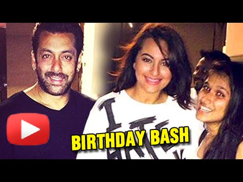 Salman Khan Threw Surprise Birthday Bash For Sonakshi Sinha's Wish