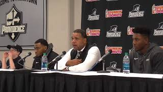Ed Cooley Butler Press Conference (Emmitt Holt Returns)