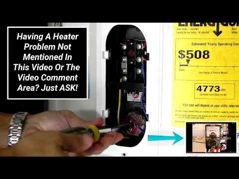 Troubleshooting Electric Water Heaters in MINUTES ~ Step By Step