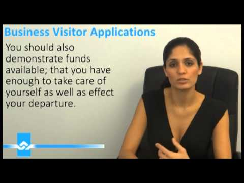 Business Visitor Applications Video