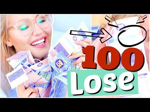 WIR HABEN 100 LOSE GEKAUFT!! | ViktoriaSarina (видео)