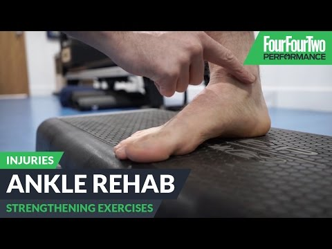 How to rehab an injured ankle