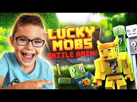 JE COMBATS DES CRÉATURES LUCKY BLOCK ! (Minecraft Nintendo Switch Edition)