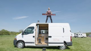 Created From a RECYCLED RV/Caravan ♻️ Cosy Self-Build VAN TOUR 🚐 by Nate Murphy