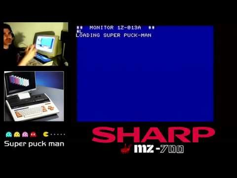 Super puck man Sharp Mz-700