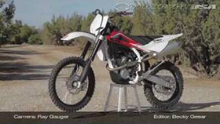 2. 2010 Husqvarna TXC 250 Motocross Dirtbike Review