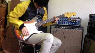 Video MJT Aged guitar 1P Alder S-Type Large head- Super Reverb Tone Tubby MP3, 3GP, MP4, WEBM, AVI, FLV Juni 2018