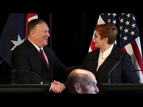 Στην Αυστραλία οι υπουργοί Εξωτερικών και Άμυνας των ΗΠΑ…