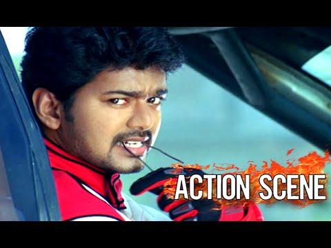 Video Vijay Mass Scene || Car Racing Video || Mass Entry Scene Vijay download in MP3, 3GP, MP4, WEBM, AVI, FLV January 2017