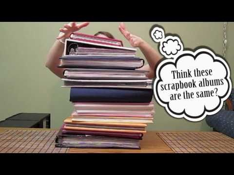 Scrapbooking Tutorial #8: The D-ring, Strap Hinge, and Post Bound Albums