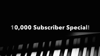 """THANK YOU to my first 10,000 subscribers! In keeping with my previous subscriber specials, this compilation video contains a short clip from every video I've made since my """"5000 Subscriber Special!"""" in chronological order. It's interesting to see the progression of videos that got to this milestone. I hope you enjoy watching it as much as I enjoyed making it for you guys! I also want to give special thanks to those who have commented on, liked, and shared my videos because your support is truly what keeps this channel going.Follow me on Twitter: https://twitter.com/HariSivanMusic"""