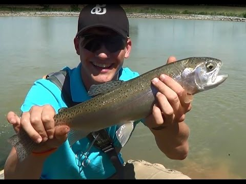 Trout & Bass Pond Fishing PA 2014