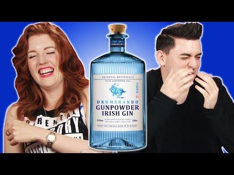 Irish People Taste Test Gunpowder Irish Gin