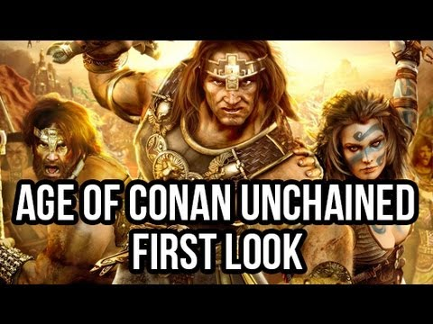 Age of Conan Unchained (Free MMORPG): Watcha Playin'? Gameplay First Look