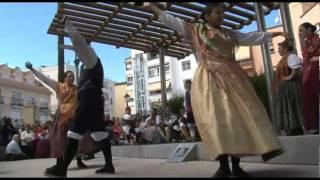The Casa de Aragon on the Costa del Sol hold a mass and a concert in the park. Aragonese folk dance and music