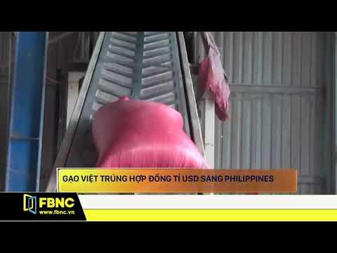 Gạo Việt trúng hợp đồng tỉ USD sang Philippines