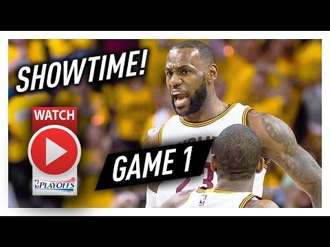 LeBron James Game 1 ECSF Highlights vs Raptors 2017 Playoffs - 35 Pts, 10 Reb, SHOWTIME!