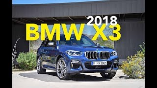 The 2018 BMW X3 has officially arrived, bringing with it new looks, an updated engine lineup and a cabin that aims to be comfier for occupants.For 2018 the X3 has adopted BMW's new three-dimensional kidney grille, which is flanked by new hexagonal-design fog lamps. Available Icon Adaptive Full LED Headlights expand on the look and also add three-dimensional rear taillamps, while the rear end is further enhanced with a new hatch spoiler and twin exhaust tips. Other exterior changes include a standard trailer hitch (the first-ever factory installed trailer hitch for a BMW SUV) and new 18-inch Y-spoke or optional 19-inch V-spoke wheels.Changes to the cabin include standard 3-zone automatic climate control, individually adjustable rear split folding seats, optional front and rear ventilated seats and an available 9.8-inch panoramic glass sunroof. BMW's latest iDrive infotainment system with a 10.25-inch touchscreen is also present and is joined by a new larger heads-up display. Like other new BMW's, it also gets a 4G LTE Wi-Fi hotspot with support for up to 10 devices.Subscribehttp://www.youtube.com/subscription_center?add_user=AutoGuideVideoYouTube - http://www.youtube.com/user/AutoguideVideoFacebook - http://facebook.com/AutoGuideTwitter - http://twitter.com/AutoGuideGoogle+ - http://goo.gl/LBxsPWeb - http://www.AutoGuide.comAutoGuide reviews the latest new cars with test drives, car comparisons and shootouts plus coverage of breaking auto industry news, auto shows, rumors and spy photos. Help shop for your new car with informative car buying tips and car recall news, and be entertained with feature stories, Top 10s and car review videos.