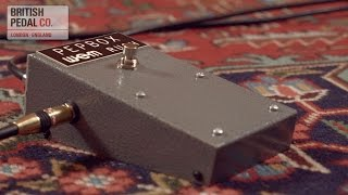 Wem United Kingdom  City new picture : British Pedal Company WEM Pep Box Fuzz reissue demonstration