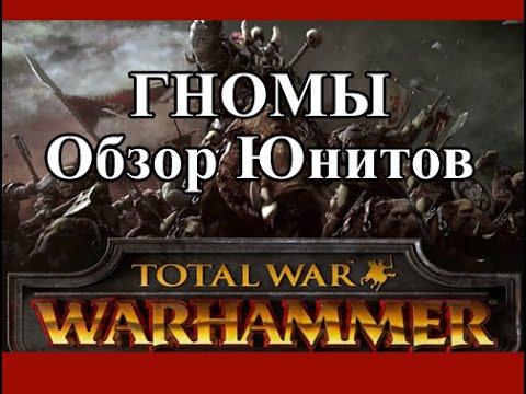 Total War: Warhammer - Гномы Обзор Юнитов