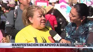 Manifestación en apoyo a Daca en Los Ángeles – Noticias 62 - Thumbnail