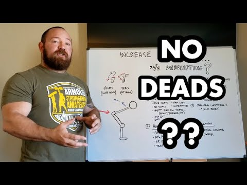 Increase Your Deadlift WITHOUT Deadlifting! How to Deprioritize Barbell Deads and Still Make Gains
