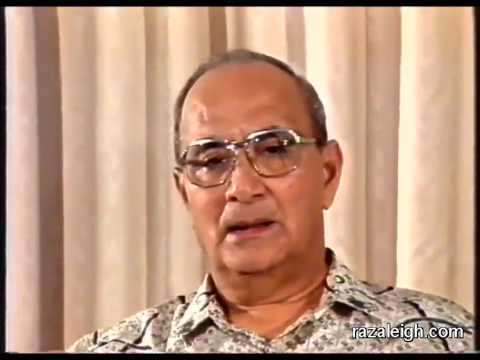 Tun Hussein Onn 1987 - Presiden UMNO yang tiada sokongan ahli-ahlinya
