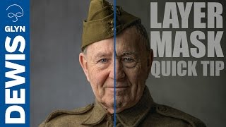 Photoshop Layer Mask Quick Tip (You May Not Know) #108