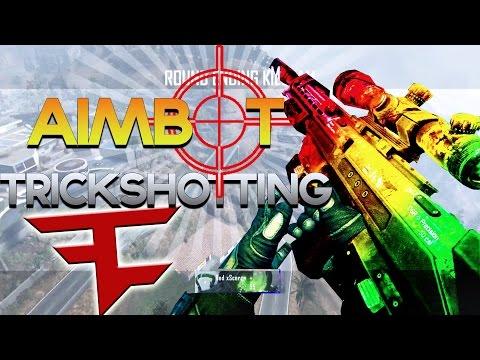 Red Scarce: BO2 AIMBOT TRICKSHOTTING! (TRASH KILLCAMS)