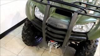 9. 2009 Honda FourTrax Rancher AT