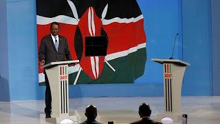 Kenyan opposition presidential candidate Raila Odinga on Monday fielded questions alone on stage after his rival, President Uhuru Kenyatta, failed to show up ...