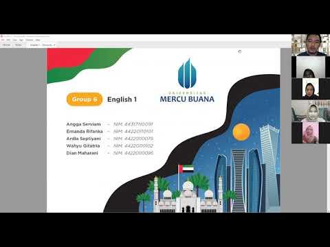 Group 6, English 1. THE UAE PRESENTATION